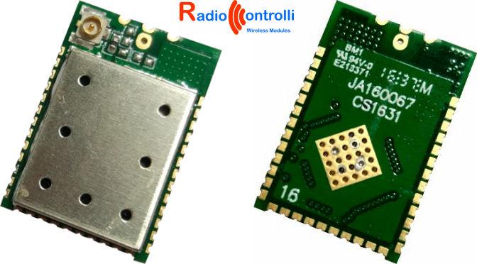 RC-CC1310-868 transceiver module | RadioControlli