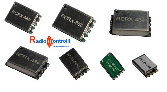 Moduli radio TX RX miniaturizzati | RadioControlli