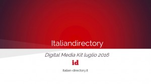 Media-kit Italiandirectory 2016