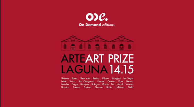 Il catalogo del Premio Arte Laguna