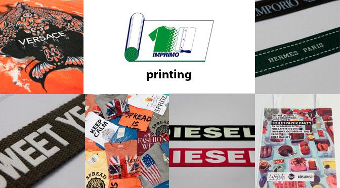 Stampa su abbigliamento, magliette, nastri Imprimo