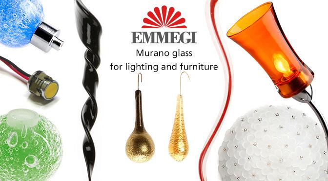 Emmegi Glass, Il vetro di Murano per illuminazione e arredamento