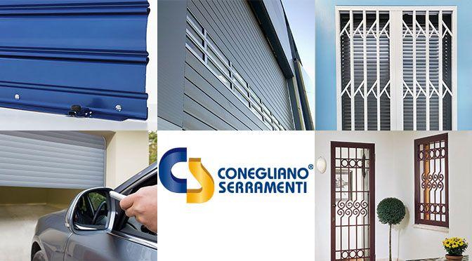 Conegliano Serramenti: cancelli estensibili e serrande avvolgibili