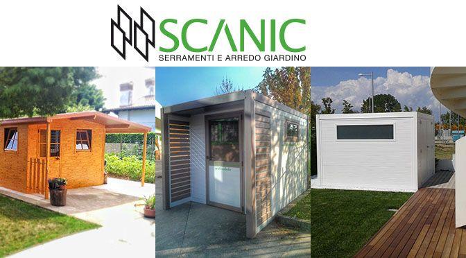 Scanic: serramenti e arredo giardino in alluminio