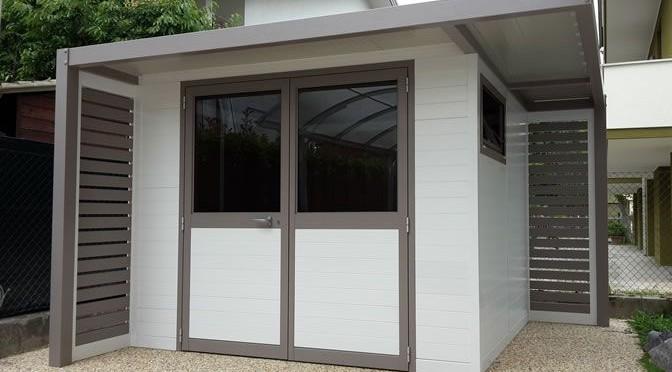 SCANIC, casette giardino personalizzate in alluminio