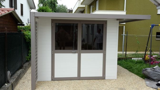 Casette Da Giardino In Alluminio : Scanic casette giardino personalizzate in alluminio