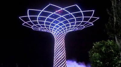 Albero della vita Expo 2015 | I moduli LED