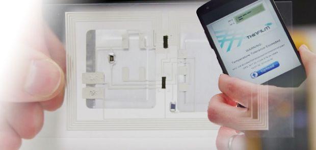 Elettronica Stampata e lettore smartphone da ThinFilm
