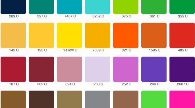 I colori Pantone in photoshop: creazione e gestione