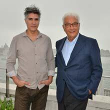 Alejandro Aravena con Paolo Baratta