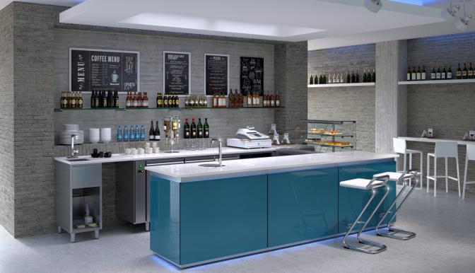 3D Rendering ristorazione   Italiandirectory