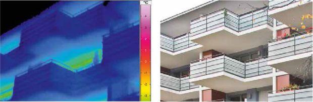 edificio residenziale con ponti termici minimizzati