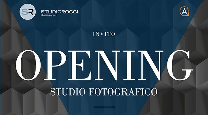 Inaugurazione del nuovo Studio Fotografico Rocci