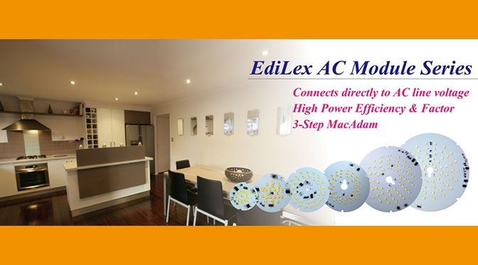 Moduli Led in corrente alternata serie Edilex G2