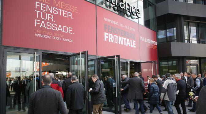 Record di visitatori al Fensterbau Frontale di Norimberga