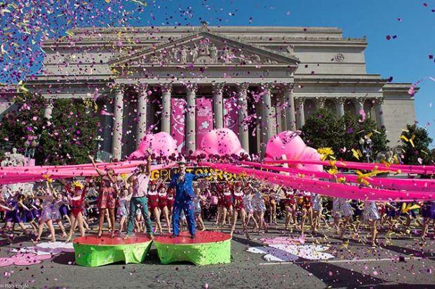 La National Cherry Blossom Parade che chiude le celebrazioni
