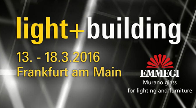 Emmegi Glass al Light+Building di Francoforte
