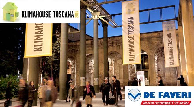 De Faveri al Klimahouse Toscana 2016