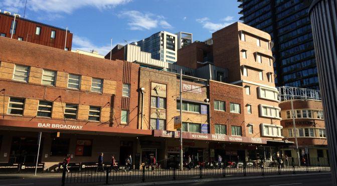 Costruzione leggera e conservazione urbana a Sydney