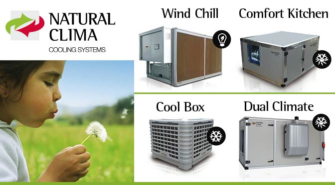 Natural Clima: cooling systems