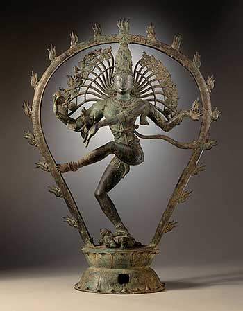 2. Nataraja: By Shiva_as_the_Lord_of_Dance_LACMA.jpg, photographed by the LACMA. derivative work: Julia\talk, Public Domain.