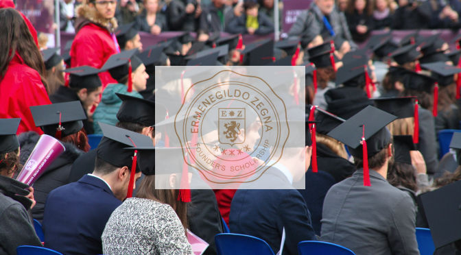 Ermenegildo Zegna Founder's Scholarship premia Trento
