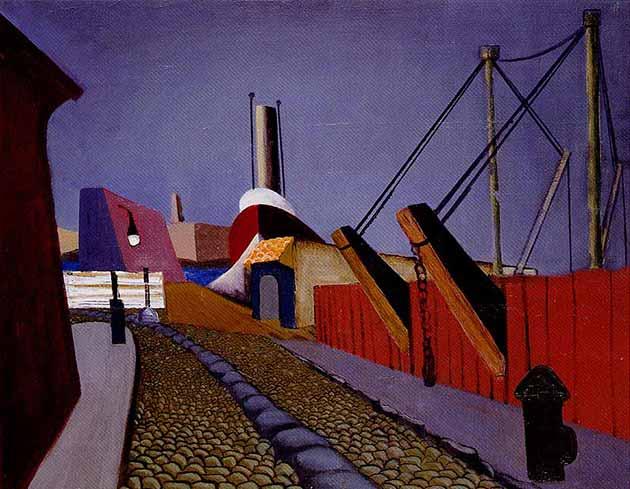 Lee Krasner, Gansevoort, 1934, Metropolitan Museum of Art, New York