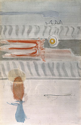 Mark Rothko, Sacrificio, 1946, Museo Peggy Guggenheim, Venezia