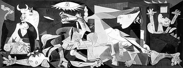 Pablo Picasso, Guernica, 1937, Museo Nacional Centro de Arte Reina Sofia, Madrid