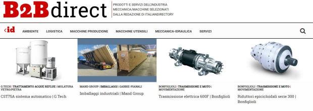 B2B direct meccanica macchine logistica