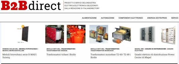 B2B direct: la selezione di prodotti e servizi a cura di Italiandirectory