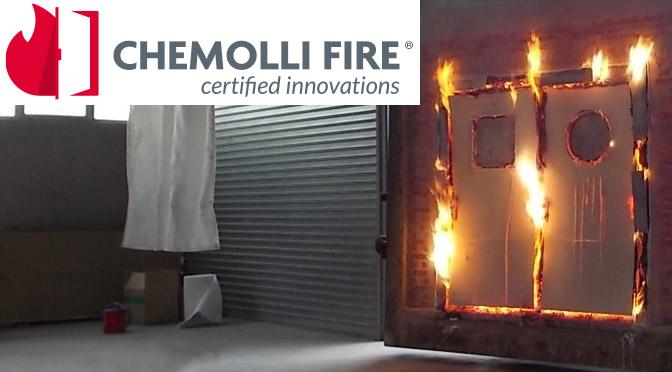 Certificazione di porte tagliafuoco Chemolli