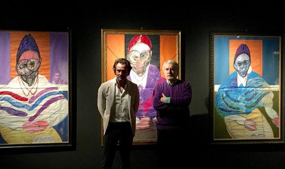 Paolo Crepet e Andrea Brunello alla mostra
