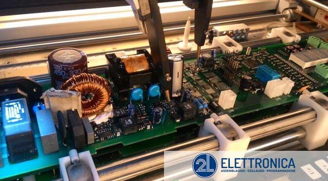 2L Elettronica sas: test e collaudo di qualità.
