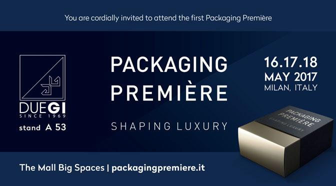 Scatolificio 2G: Packaging Première a Milano dal 16 al 18 maggio 2017