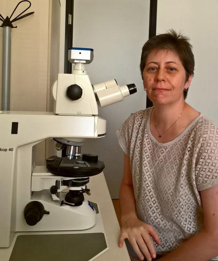 Claudia Agnini, docente di micropaleontologia e paleoclimatologia
