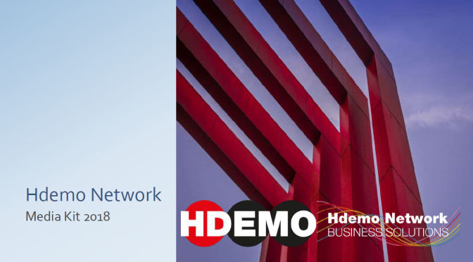Media kit 2018 magazine Hdemo Network