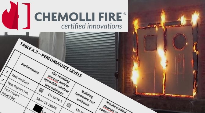 Chemolli: HPS Hardware Performance Sheet a norma EN16035