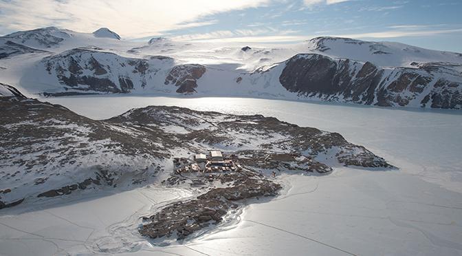 Antartide: dal ghiaccio al fuoco della Terra