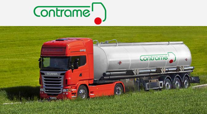 Trasporto con cisterne di merci e rifiuti speciali Con.Tra.Me