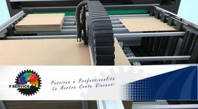 Macchinari per cartotecnica e stampa F Service Automation