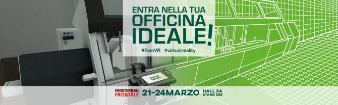 Fensterbau Frontale 2018 - realtà virtuale