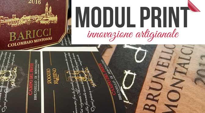 Etichette autoadesive per vino Modul Print