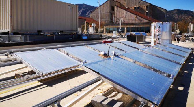 Un sistema di raffreddamento radiativo, risparmio energetico a basso costo