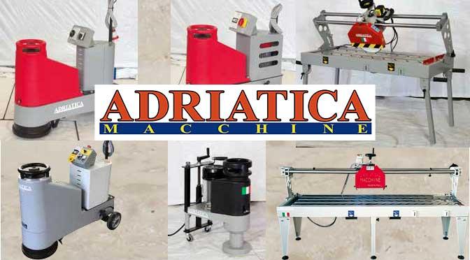 Adriatica Macchine levigatrici e taglierine per marmo made in Italy