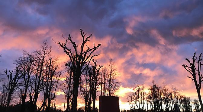 Rosso di sera bel tempo si spera | Racconto di Diego Tonini