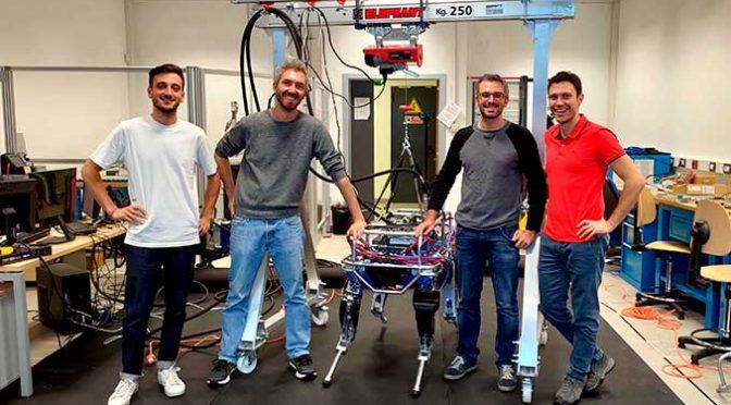 Trasporti sui sentieri: ci pensa il mulo robot HyQ-Blue (Hydraulic Quadruped)