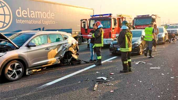 sicurezza in autostrada e incidenti