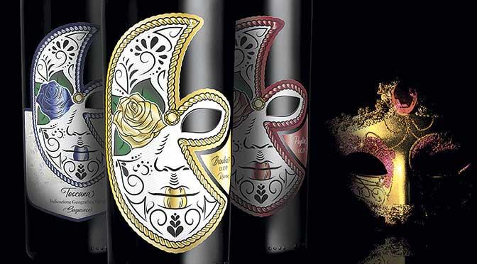 Wine Tube presenta la Carnival Mask Line