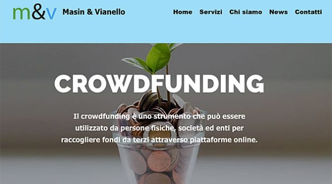 Crowdfunding secondo System Dati